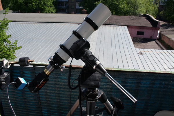 Телескоп Coronado PST + Synta Sky-Watcher 80ED